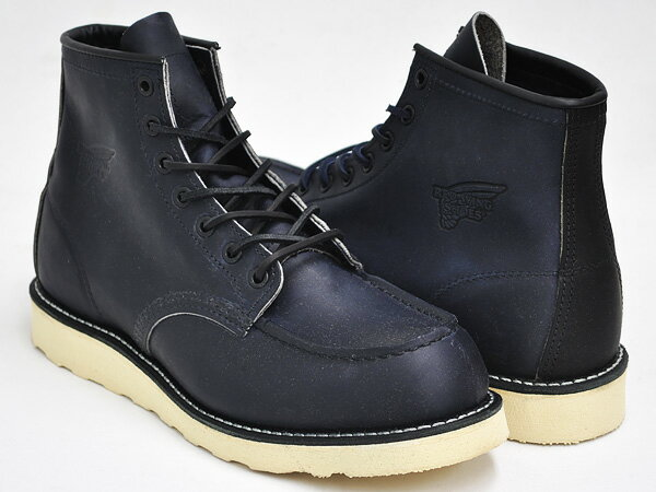 RED WING 6INCH MOC TOE BOOT