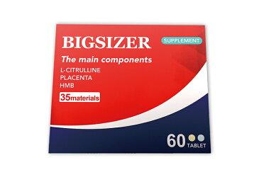 ビッグサイザー BIGSIZER 3箱90日分 18000mg成分 アルギニン シトルリン 亜鉛 マカ マムシ スッポン ビタミンE、パントテン酸、パフィア、ビタミンB2、HMB、葉酸、ビタミンA、ビタミンD、ビタミンB12 ムイラプアママムシ、サソリ トンカットアリなど