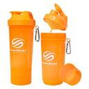 SmartShake Slim 500ml NEON Orange【ス...
