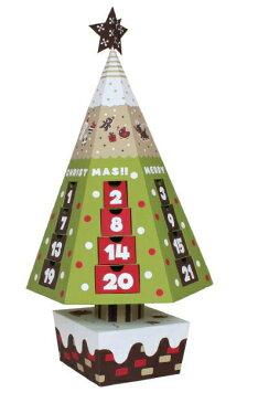 アドベントカレンダー DIY 親子 手作り クリスマス ツリー HM-1655