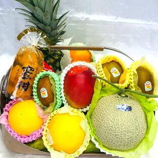 『季節のフルーツバスケット』大人気フルーツを各種お祝い、プレゼント、またお中元や遠方の方へのギフトに!【送料無料】【メッセージカード無料】