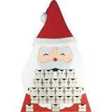 クリスマス ウッドボックスカレンダー(サンタ) プレゼント お祝い返し 内祝い ギフト