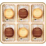 お年賀 ゴディバ ショコラ&ブランクッキーアソートメント(18枚) 冬ギフト お祝い返し 内祝い