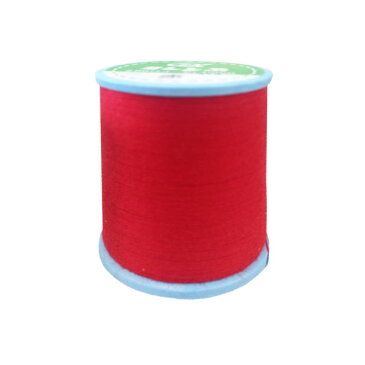 GXミシン糸(赤)/ミシン糸60番 〈01174〉150m:ポリエステル100%【コンビニ受取対応商品】