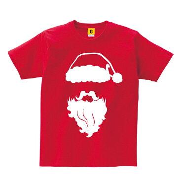 サンタ コスプレ サンタtシャツ サンタコス クリスマス コスチューム サンタクロース フェイス Tシャツ X'mas パーティー おもしろ プレゼント GIFTEE ギフティー おもしろTシャツ