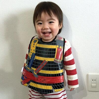 防水ビブ(ベビーエプロン)将軍(コスプレ衣装)ベビースタイ