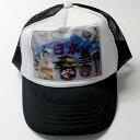 日本のおみやげ 3Dキャップ 日本 オールジャパン 黒Japan CAP 野球帽 男女兼用 和柄 帽