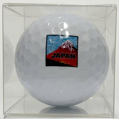 日本のアートゴルフボール赤富士