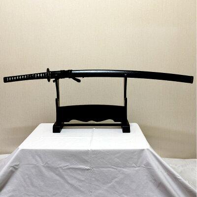 侍刀黒石目大刀美術刀剣(模造刀)