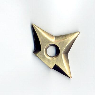 メタル手裏剣マグネット金色(ブロンズ)1