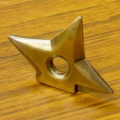 メタル手裏剣マグネット金色(ブロンズ)2