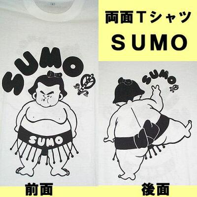 おもしろTシャツSUMO相撲Lサイズ