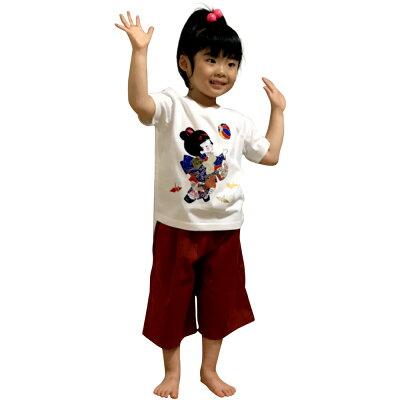 子供Tシャツ童(わらべ)
