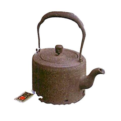 南部鉄器 鉄瓶 鉄分補給/南部鉄器 鉄瓶 肩寸筒 1.2L C01-01 [鉄瓶] 新築祝い 内祝い 記念品