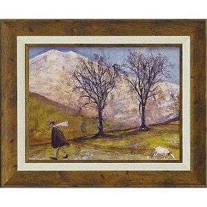 壁掛け飾り 絵画 お祝い 記念品 おしゃれ かわいい ST-05815 /サム トフト 「マンスフィールドをゆく」 ST-05815