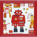 壁掛け飾り 絵画 お祝い 記念品 おしゃれ かわいい AD-06502 /アン デイヴィス 「レッド ロボット」 AD-06502