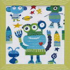壁掛け飾り 絵画 お祝い 記念品 おしゃれ かわいい AD-06503 /アン デイヴィス 「エイリアン」 AD-06503