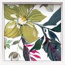 壁面飾り 卓上 絵画 おしゃれ かわいい /ロハス ミニアートフレーム クリスティ 「ライスヘレボルス ヤァ1」 壁掛、卓上両用 LA-01635