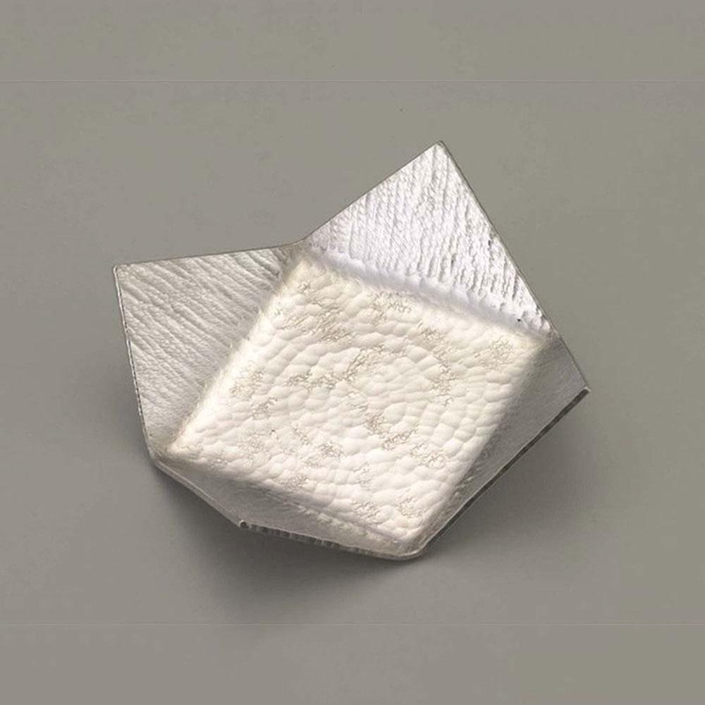 四方皿 錫器 日本製