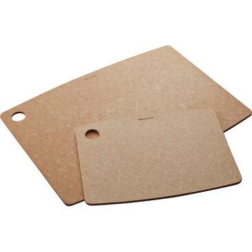 エピキュリアン カッティングボード2枚セット ナチュラル 0723-059907 【ギフト対応不可】