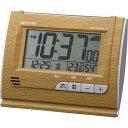 リズム 電波目覚まし時計 ナチュラル 8RZ165SR07 【ギフト対応不可】