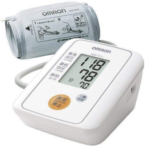 オムロン 血圧計 上腕式 OMRON デジタル自動血圧計 HEM-7111【ギフト対応不可】