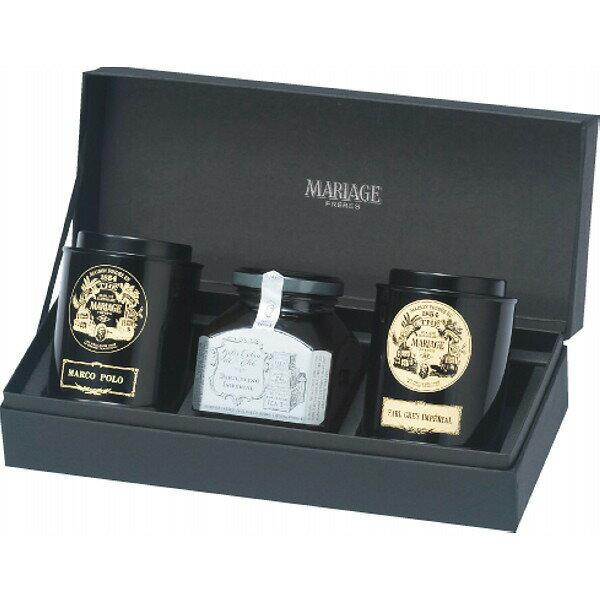 マリアージュフレール紅茶2銘柄と紅茶のジャムの贈り物GS−4