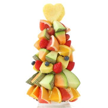 [ギフトパーク]スイーツ お菓子 詰め合わせ ギフト【フルーツタワー】ハッピーカラフルーツケーキ サプライズ プレゼント 誕生日 結婚記念日 結婚内祝い フルーツギフト 果物盛り合わせ 贈答用 お取り寄せグルメ お祝い 贈り物 贈答品 送料無料 母の日 父の日