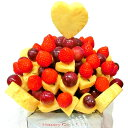 [ギフトパーク]果物 詰め合わせ【いちごのハートブーケ】フル...