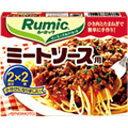 ひき肉とたまねぎを炒めて、Rumicミートソース用と水を加えるだけでトマトのうま味がギュッとつ...