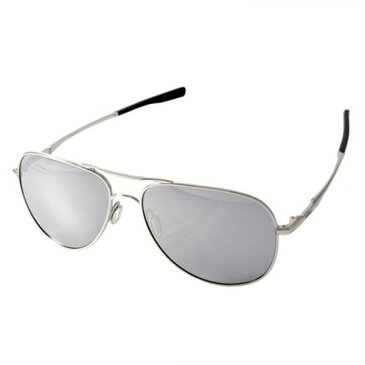 OAKLEY オークリー oo4119-0860 Elmont Large Chrome iridium Sunglasses 偏光 サングラス