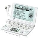 SHARP 電子辞書(音声対応/タイプライターキー配列)PW-GT570-W 送料区分:A