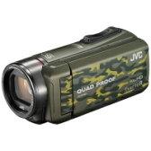 【送料無料】VICTOR(ビクター) GZ-R400-G SD対応 32GBメモリー内蔵 防水・防塵・耐衝撃フルハイビジョンビデオカメラ(カモフラージュ)【KK9N0D18P】