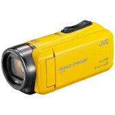 【送料無料】VICTOR(ビクター) GZ-R400-Y SD対応 32GBメモリー内蔵 防水・防塵・耐衝撃フルハイビジョンビデオカメラ(イエロー)【KK9N0D18P】