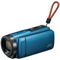 VICTOR(ビクター) GZ-RX670-A SD対応 64GBメモリー内蔵 防水・防塵・耐衝撃フルハイビジョンビデオカメラ(アクアブルー)【KK9N0D18P】