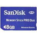 【エントリー&落札でポイント5倍オークション】Sandisk メモリースティックPRODUO 8GBSDMSPD-8...