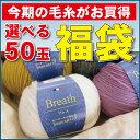 【毛糸の福袋 セット】ブレス/乾式アクリルを使用した毛混並太50玉♪あれこれサービスついてます☆初心者にも使いやすい毛糸です【編み物】