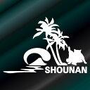 海と山と猫と 湘南の猫 湘南の海 富士山 ステッカー ハワイサ...