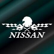 フラッグ エンブレム ステッカー ニッサン レーシング ドレスアップ