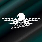 ステッカー レーシングステッカー フラッグ ドレスアップ