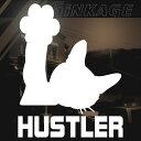 スズキ ハスラー HUSTLER 車 ステッカー 猫 ステッカー サイ...