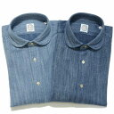 【SALE50】BOLZONELLA(ボルゾネッラ)コットンジャージラウンドカラーシャツS1 RAPPER/NGR F2061 11052003025