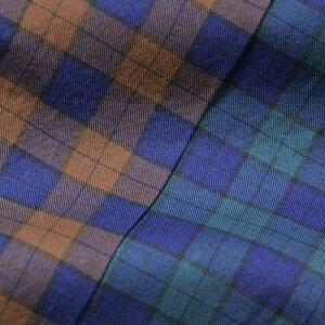 Finamore(フィナモレ)LUIGIルイジコットンタータンチェックワイドカラーシャツ01210311052017039