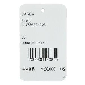 BARBA(バルバ)DANDYLIFENEWBRUNOコットンツイルカッタウェイワイドカラーシャツ33490611061008022