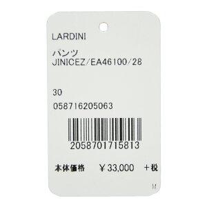LARDINI(ラルディーニ)コットンストレッチボタニカルプリントシャーリングテーパードパンツNICE/4610013061007022