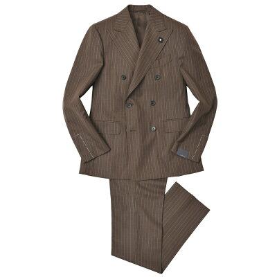 ラルディーニストライプダブルブレステッドスーツ
