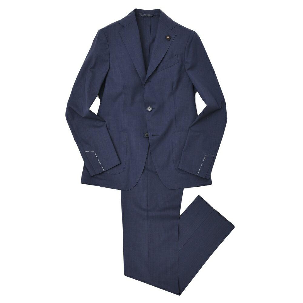 【SALE30】LARDINI(ラルディーニ)EASY WEARイージーウェア ストレッチウールヘアラインストライプ3Bスーツ JK021AQ/ECR48601 17171011022:ginlet(ジンレット)