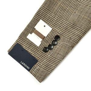 LARDINI(ラルディーニ)EASYイージーシルクリネンライトツィードグレンチェック3BジャケットJM903AQ/EEA5052917081000022