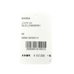 BARBA(バルバ)LoroPianaウールシルクリネンサマーライトツィードタータンチェック3BジャケットGLELL0868000117081002022