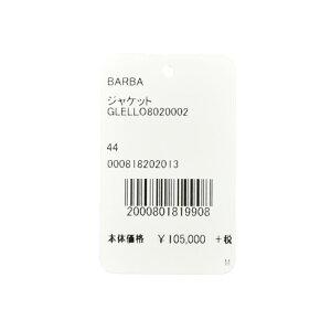 BARBA(バルバ)LoroPianaウールシルクリネンサマーライトツィードタータンチェック3BジャケットGLELL0802000217081004022